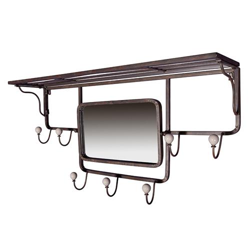 charme de provence garderobe ensor mit spiegel von flamant. Black Bedroom Furniture Sets. Home Design Ideas