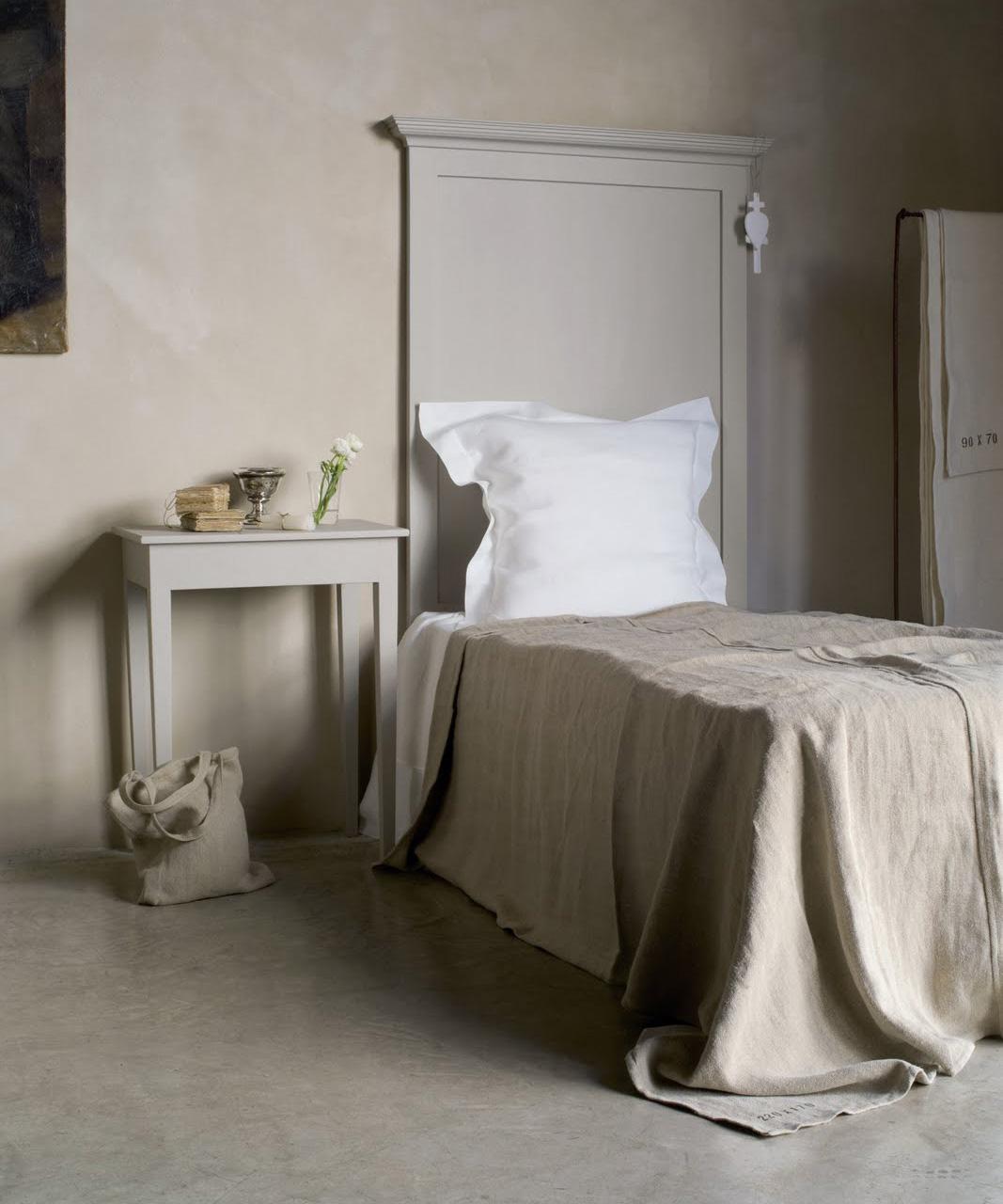 charme de provence kopfteil bastide ii aus pinienholz. Black Bedroom Furniture Sets. Home Design Ideas