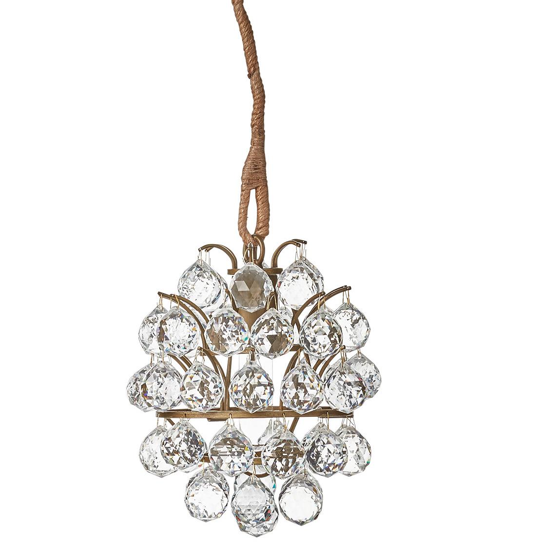 Charme de provence kronleuchter landhausleuchter lene bjerre onlineshop - Kronleuchter mit kristallen ...