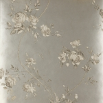 Darcy Wallpaper - Tapete von Colefax and Fowler - Pewter