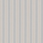 Tapete Ditton Stripe von Colefax and Fowler in old blue