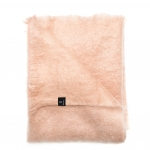 Mohairplaid Lawrence in blush von Himla - 120 x 170 cm
