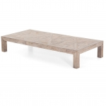 Coffeetable Maline aus alter Ulme von Flamant - large