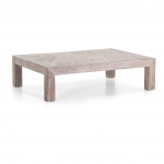Coffeetable Maline aus Alter Ulme von Flamant - small
