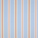 Porlock Stripe von Jane Churchill, blue-red