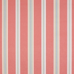 Porlock Stripe von Jane Churchill, red