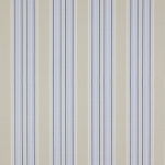 Weston Stripe Meterware von Jane Churchill, Blue Beige
