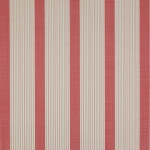 Weston Stripe Meterware von Jane Churchill, Red