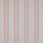 Weston Stripe Meterware von Jane Churchill, Red Blue
